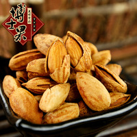 Hot 400G Thin shell almonds Snacks Cream taste apricot kernel amygdaloid meat nuts Featured Casual Snacks Health food