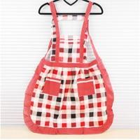 Min Order $15(mixed order)  fashion sleeveless laciness bowknot  Apron Housework  prevent oil  apron  994yx