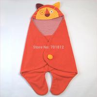 cute cartoon design newborn swaddle polar fleece lion shaped baby wrap infant receiving blanket swaddling clothing Spring/Autumn