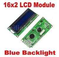 10PCS 1602 16x2 Character LCD Display Module HD44780 Controller blue blacklight