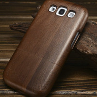 High quality Bamboo Wooden Case For Samsung Galaxy S3 i9300 New Arrival Hot Unique Back Cover For Galaxy S3 with more models