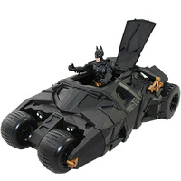"Hot Sale Batman Vehicle The Dark Knight Toy Black Car Toys 8.5"" Batman Tumbler with 4"" Batman Action Figure Free Shipping"