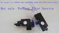 New  speaker for  TOSHIBA A660 A660D A650 A655D P750 P755 X3VC2S/X3XC23  Free shipping  wholesale laptop speaker