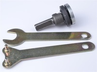 M10 Thread Arbor Nut Shaft Wrench Assortment for Angle Grinder Wet Polisher
