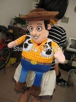 5pcs  Toy Story Woody Plush Backpack Kid Plush bag retail hot sale