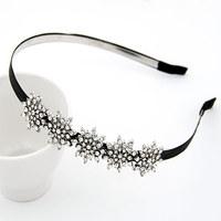 2014 new Korean delicate fashion ladies hair pins /snowflake hair clip /hair bands hair accessories