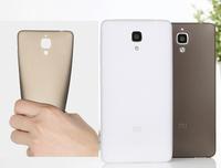 100% Original XIAOMI MI4 Case Soft Silicone TPU Case Protective Cover Case For Xiaomi mi4 phone