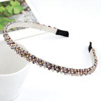 Han edition fashion handmade beaded jewelry braided  hair bands headbands for brides/hair hoops