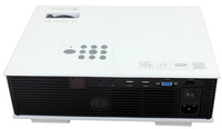 Multimeda UC80 HD LED Mini Projector Image With HDMI TV Support 1080P 1500 Lumen