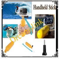 Camera Gopro accessories Bobber Floating Handheld Stick Floaty Grip + Wrist strap + Screw acessorios gopro hero3+/3/2/1