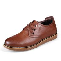 New Italian Shoes Men Leather Fashion Men's Casual Shoes Designer Blue Shose Solid Zapatos Hombre Brown Male Shoe Size 38 - 43