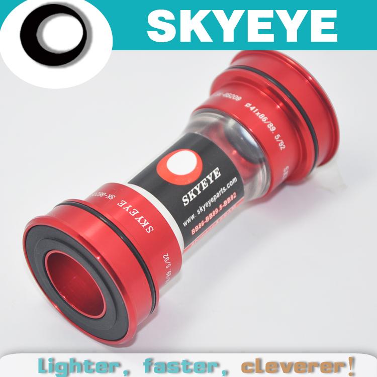 skyeye original 86.5/89.5/92 sealed bearing hollow fit press MTB road middle axis bicycle bottom bracket(China (Mainland))