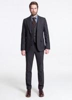 2014 Suits New Design  Groom Tuxedos Groomsmen Men's Wedding Suits Best man Suits (Jacket+Pants+Vest+Tie)