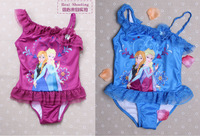 Whole sale A bathing suit of frozen pincess  classic  bathing suit