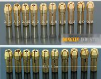 10 Pcs Copper Connecting Chuck for Dremel Drill Mini drill Chuck (0.8-3.2)MM Free Shipping