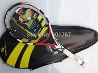 fashion wholesale 100% carbon  tennis racket aero storm (AS) high quality freeshipping