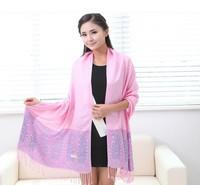 Winter Bohemian National Style Leopard Shawl Cotton Infinity Scarf Women Fashion Scarves