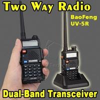 NEW BAOFENG UV-5R Dual Band Two Way Radio 128CH VHF 136-174 MHz UHF 400-480 MHz Transceiver Bao-feng UV5R Walkie Talkie FM Radio