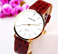 2014 new Phnom Penh upscale men's slim belt watches minimalist electronic gift table factory direct