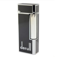 100% New high quality windproof gas metal lighter cigarette cigar lighter free shipping