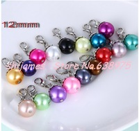 20pcs beautiful mix color beads can hang on floating lockets (you can choose any color you want )