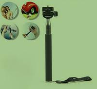 Gopro Accessories Extendable Handheld Telescopic Monopod Holder Tripod Mount for GoPro HD Hero1 2 3 Carmera free shipping