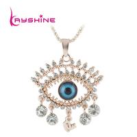 Simulated Gemstone Jewelry Colar Fashion Gold Necklace Women Wedding Accessories