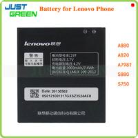 100% Original BL197 2000Mah Battery for Lenovo A880 A820 S880 S750 A798T Mobile Phone