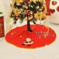 Free shipping Arts elderly snowman tree skirt