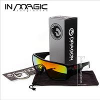 Brand DRAGON DOMO Sunglasses Men Outdoor Fun Sport Glasses UV400 Fashion Stylish Sun Glass oculos With Box DOMO2030