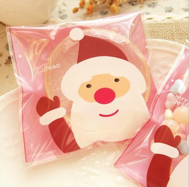 100pcs/bag Christmas Snowman Organizer Storage Bag