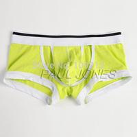 Fashion Brand Men Cotton Comfortable Boxers Sexy Men Underwear Hollowed Front Boxer For Men CL6471