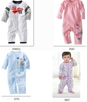 2014 Carters  Cotton Bodysuits Long sleeve  Pajamas  First Movement 1pcs Toddler ONE-PIECES Clothes-ZW288C