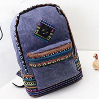 Cheap Products! canvas women shoulder bags Vintage women backpack Casual women backpack  women school bag