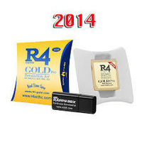 Free Shipping 2014 gold pro card Adapter for3DS with micro sd 8GB,V8.1.0-19 newest version