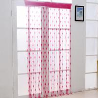 200x100 cm Romantic Cute Heart Living Room Door Curtain Portiere Screen Good Quality Window Room Divider Curtain Valance Fashion
