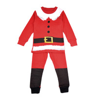 Children Romper Toddlers Christmas Gifts  Winter Hat Bow Outfits Clothes  Age2-7Y