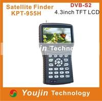 """KPT-955H:4.3"""" Handheld Multifunctional Satellite Finder&Monitor"""