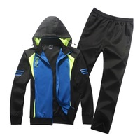Fashion Men's Leisure Hoodies Sports Suit  Spring Autumn New   Sportswear Jacket+Pants Sweatshirts Sets Free Shipping