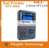 3.5 inches handheld multifunction satellite finder KPT-968A LCD monitor Satellite TV testing tools signal quality
