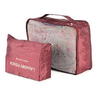 2 pcs/Set Free Shipping Travel Waterproof Ventilation Folding Storage organizer Portable fashion Closet women/men Clothes bags