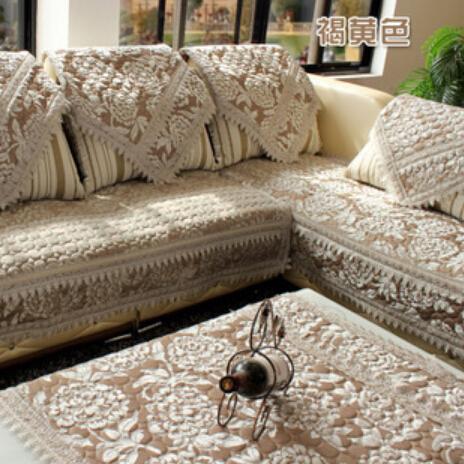 Hot sale top quality antiskid sofa cover quilting thicken cover for sofa europe classic fashion sofa towel sofa cover set(China (Mainland))