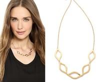 2014 Europe style  necklace short paragraph  clavicle chain necklace women wholeslae 12 pcs/lot