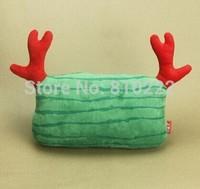 Cute Watermelon Deer Fresh Style Car Headrest Neck Pillow Car Cushion Car Accessories Neck Pillow  for Car Pillow-Green