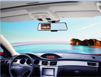 """Wholesale Android GPS Car camera 4.3""""Capactive Touch screen FHD 1080P dual lens car dvr Built in WiFi FM transmitter"""