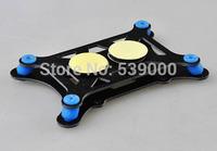 Free Shipping Glass Fiber Flight control damping plate Flight Controller Anti-vibration Set Shock Absorber APM/KK/MWC