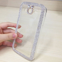 Luxury Cover Crystal Bling Case For Samsung Galaxy Grand Neo i9060 Case Mobile Phone Case Rhinestone Diamond Cover Free Shipping