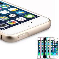 Fantastic Luxury Slim Metal Aluminium Alloy Arc Bumper Frame Case Cover for iPhone 5 5S Feida