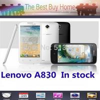 Original Lenovo A830 3G WCDMA GPS Quad Core MTK6589 5.0''IPS Android 4.2  WIFI 8MP  4GB ROM + 1GB RAM S960 S650 E71 F8