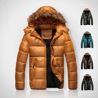 Men Winter Jacket New Fashion Sports Outdoor Winter Autumn Down Coat Slim Fit Outerwear 5 Colors Plus Size 3XL  Z1140